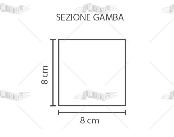 Tuberosa - Tavolo ovale etensibile 190/240x100 - 2